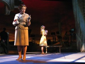 Kelsey as Margaret with Sarah Agar as Clara in The Light in the Piazza.